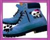 CW Blue Kids Boots Panda