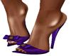 Leonah Purple Slippers