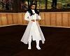 sleeveles long open robe