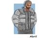 Puffer Jacket Grey