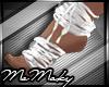 *M* White straps
