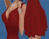 pretty red short dress