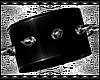 B! PVC Spiked Bracelet R