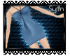 * Halter Dress Blue