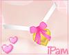 p. pink valentine collar