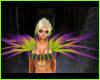 Mardi Gras Glam Feathers