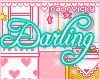 Darling Nametag