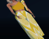 C- Yellow outfit