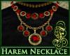 Harem Necklace Red