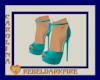 (CR) Teal Heels
