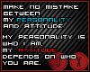 !D!Attitude-Personality