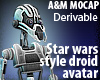 StarWars Droid DERIVABLE