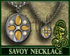 Savoy Necklace Yellow
