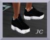 JC~Black Sneakers