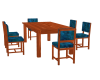 6 person dining set
