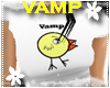 *S* Vamp Chick White