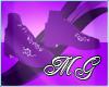 Lovely Stepperz ~ Purple