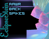 Rawr! Back Spikes