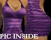 ! Mini dresse Mauve Dark
