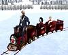 Animated Christmas Train