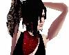 Black Red Galaxy Hair