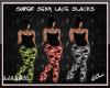 Black Lace Slacks