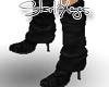 Black Stiletto Legwarmer