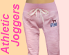 Pink Athlete Sweat Pants