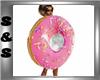 Pink Dunkin Doughnut