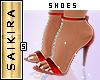 Diamond Heels Red