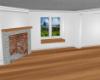 white room n wood floor