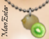 ! Kiwi Necklace