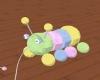 (W) Caterpillar toy