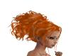 Ginger Curled Ponytail