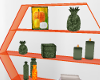 Orange|fall Deco shelf-A