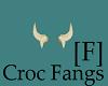 Crocodile Fangs [F]