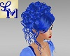 !LM Curly Blue Updo Mora