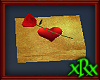 Gold Box w/Rose
