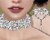 Silver Diamond Choker