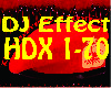 ♫Effec HDX 1-70♫