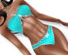 Candy-Blue Bikini