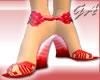 GA Red Rose Wedge
