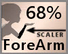 68% ForeArm Scaler F A