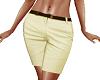 TF* Yellow Chino Shorts