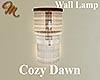 [M] Cozy Dawn Wall Lamp