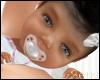 Infant: Kianna in pink/w