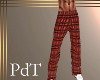 PdT Red Plaid PJs M
