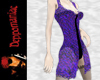 Picot Jacket Dress PURPL