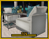 Pinapple couch set
