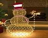 Gold Christmas Swmn Strp
